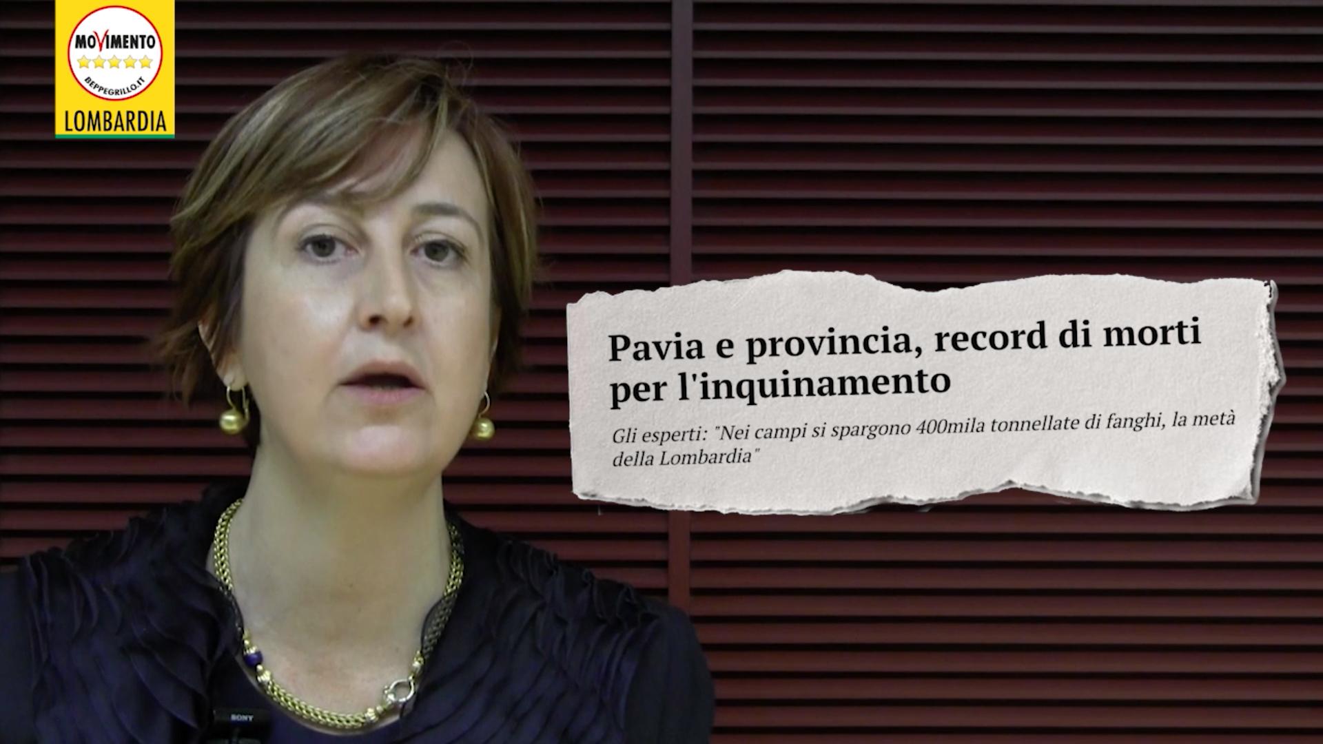 Allarme inquinamento Pavia: la denuncia di Iolanda Nanni (M5S Lombardia)