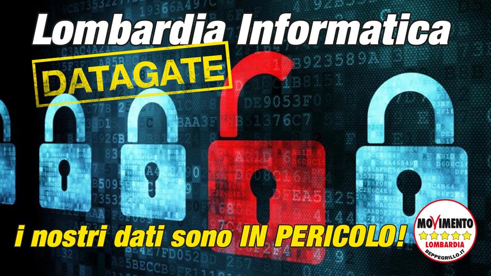 #Datagate Lombardia Informatica: i nostri dati sono in pericolo