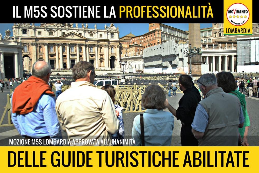 Guide turistiche: chiarezza sulle abilitazioni, sì a mozione del M5S