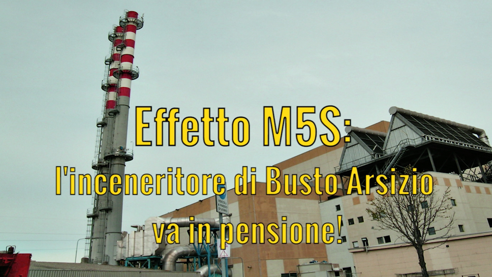 Effetto M5S: l'inceneritore va in pensione!