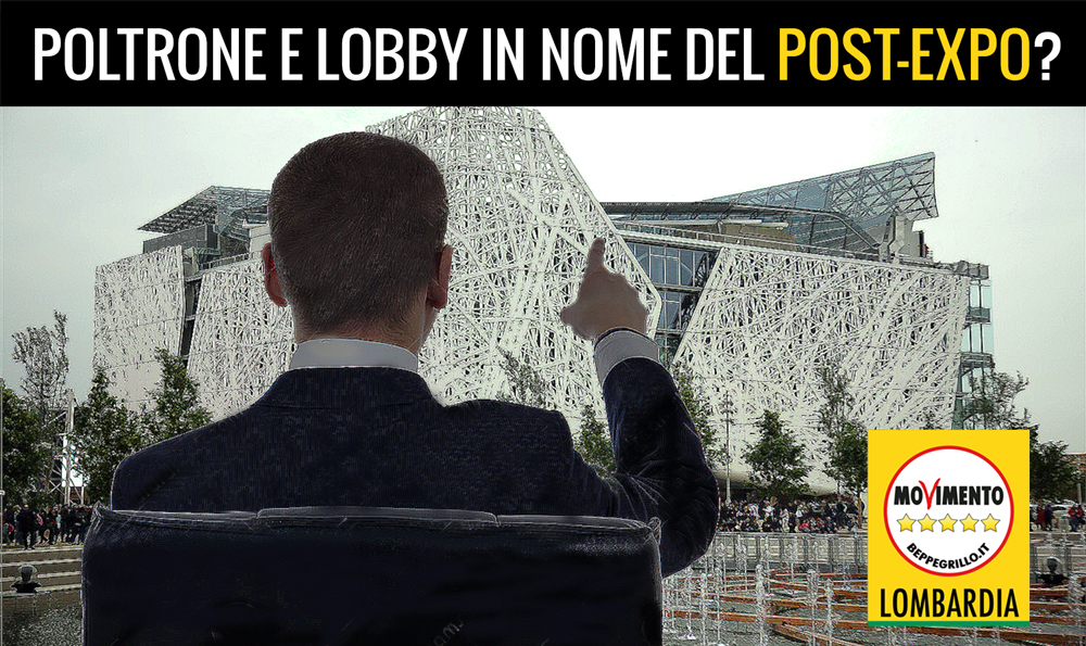 Poltrone e lobby in nome del post-Expo?