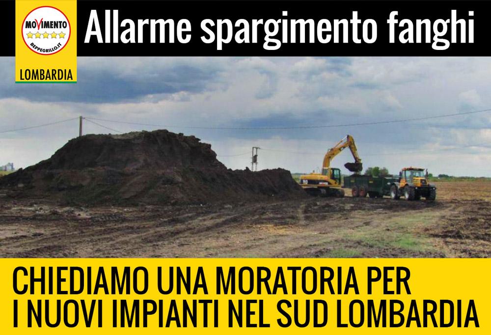 Spandimento fanghi in agricoltura: allarme in provincia di Pavia. Chiediamo una moratoria per i nuovi impianti.