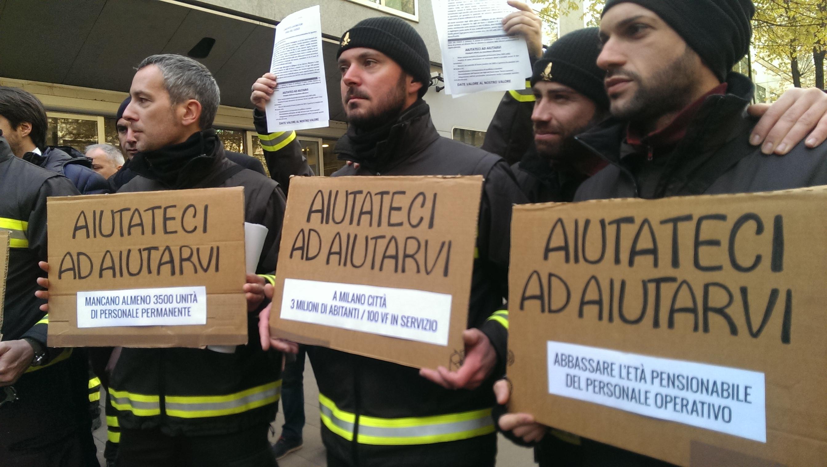 Il M5S sostiene la protesta dei Vigili del Fuoco: è ora di stanziare risorse