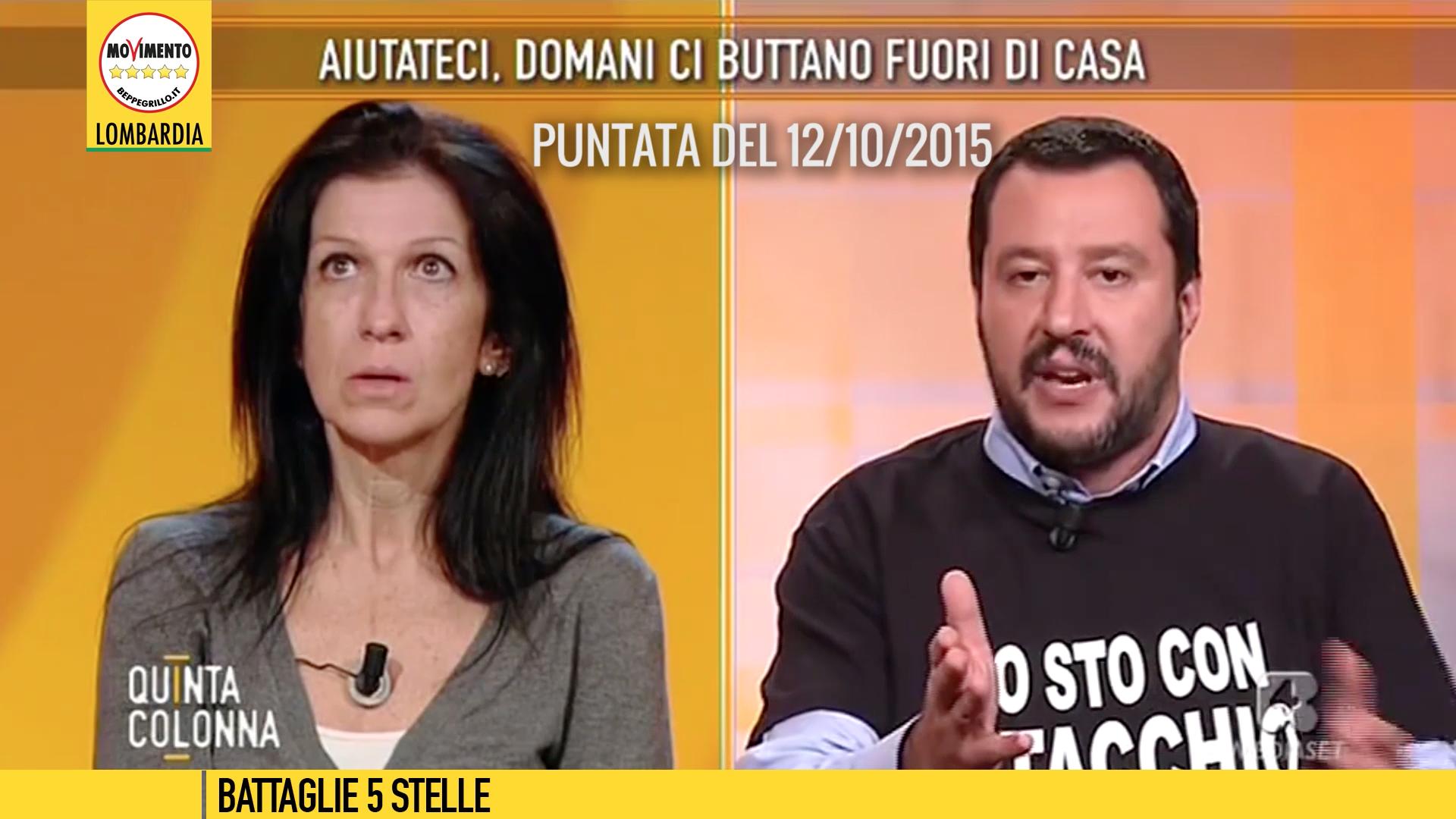 """Le promesse da marinaio di Salvini in TV: """"il suo problema verrà risolto stasera!"""""""