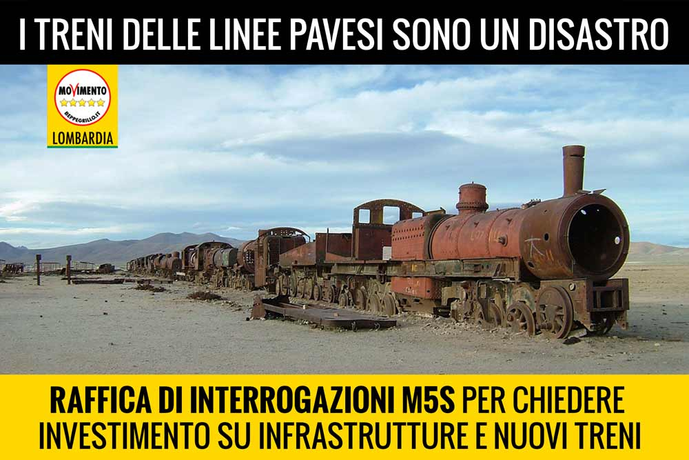 Linee ferroviarie al collasso: la Regione non mantiene le promesse!