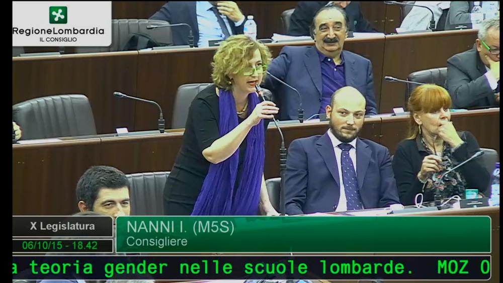 """Family Day, Nanni (M5S Lombardia): """"Gonfalone lombardo rappresenta solo quattro crociati lumbard"""""""