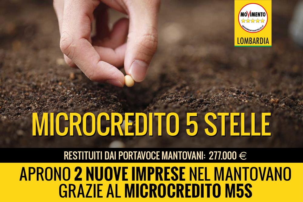 A Mantova nate due imprese grazie al fondo Microcredito 5 Stelle
