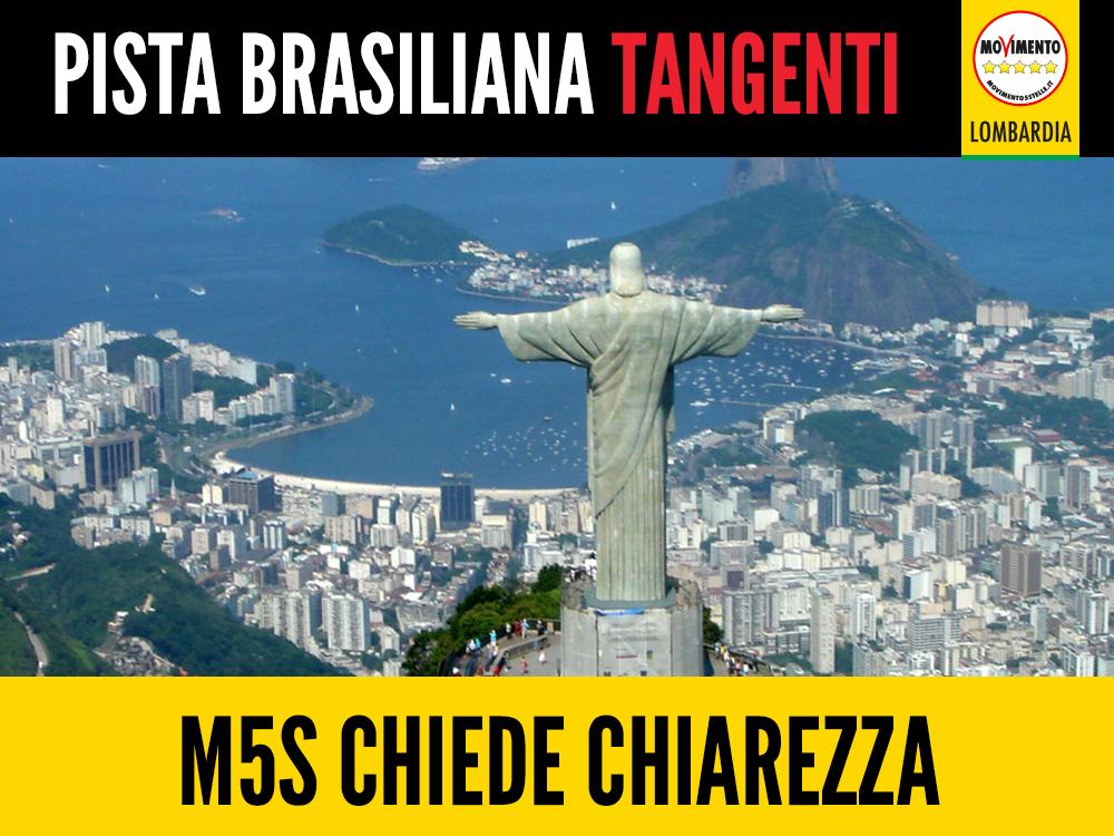 Tangenti sanità: M5S chiede chiarezza sulla pista brasiliana