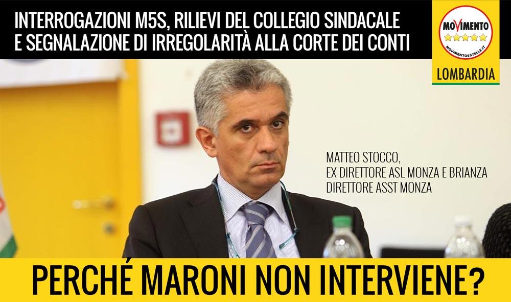 """Caso Stocco, Corbetta (M5S Lombardia): """"La Regione prenda posizione"""". Interrogazione del M5S"""