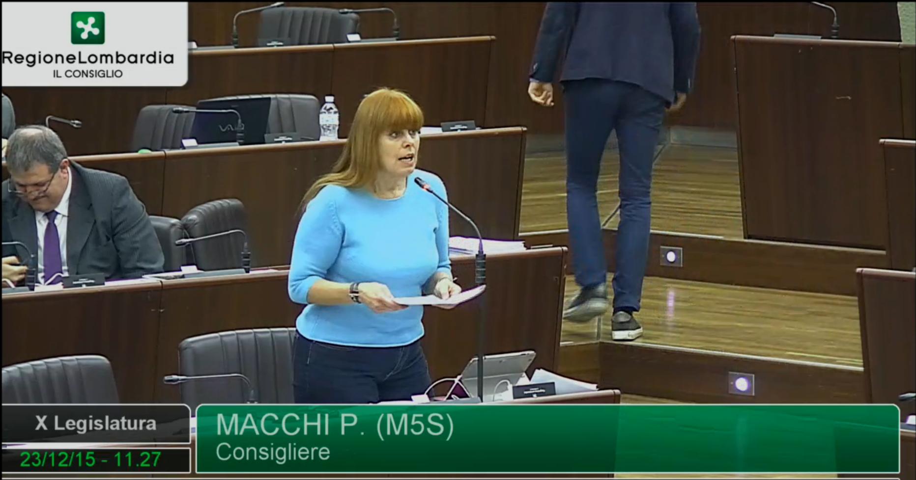 Sicurezza, Paola Macchi (M5S): Maroni a Varese solo in campagna elettorale?