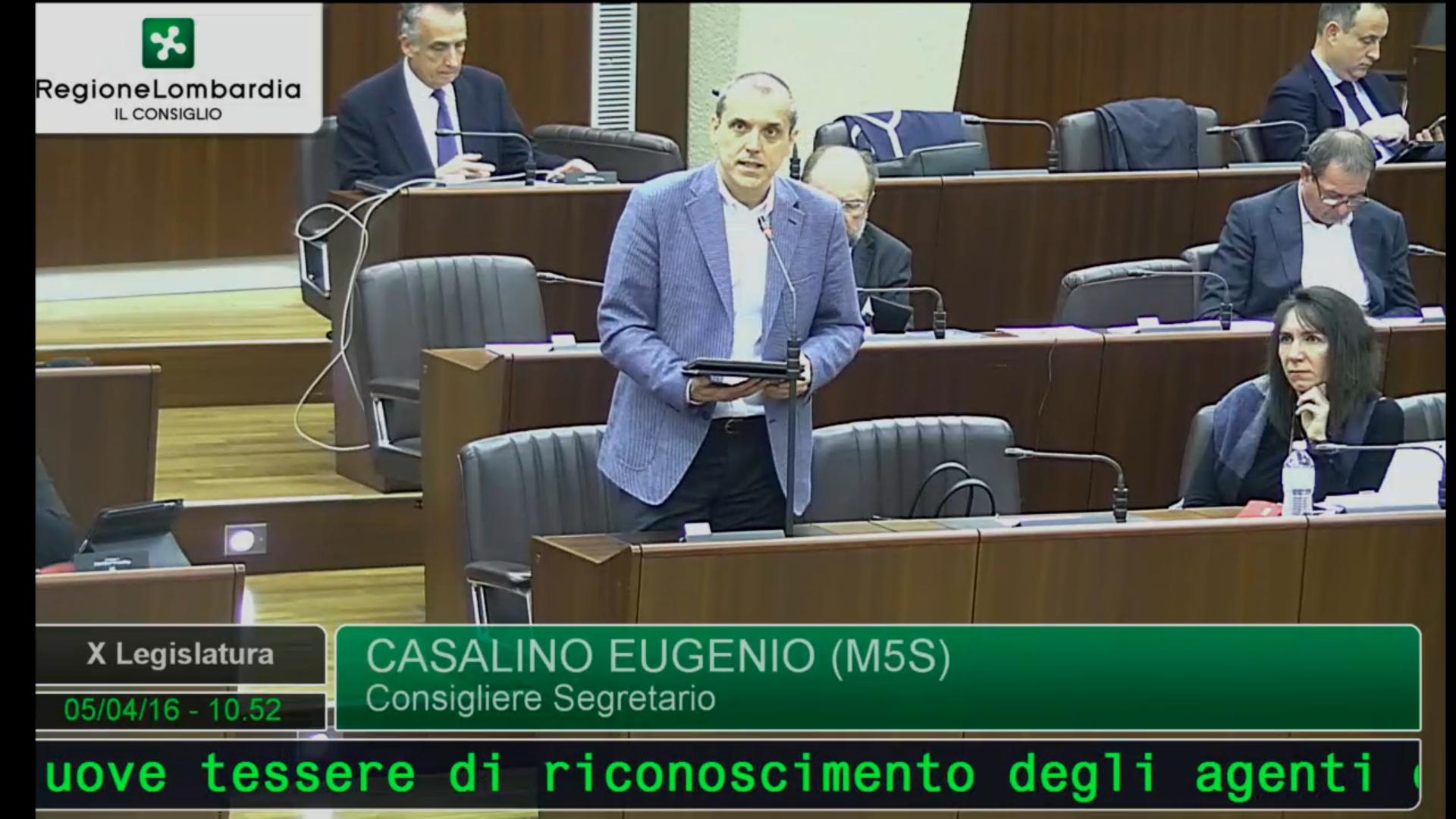 Nuove tessere regionali della polizia locale, Casalino (M5S): falsificabili, la regione intervenga