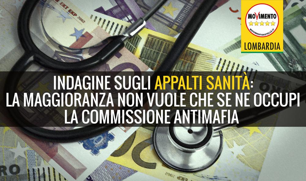 Appalti sanità, la maggioranza elude richiesta d'indagine conoscitiva del M5S Lombardia