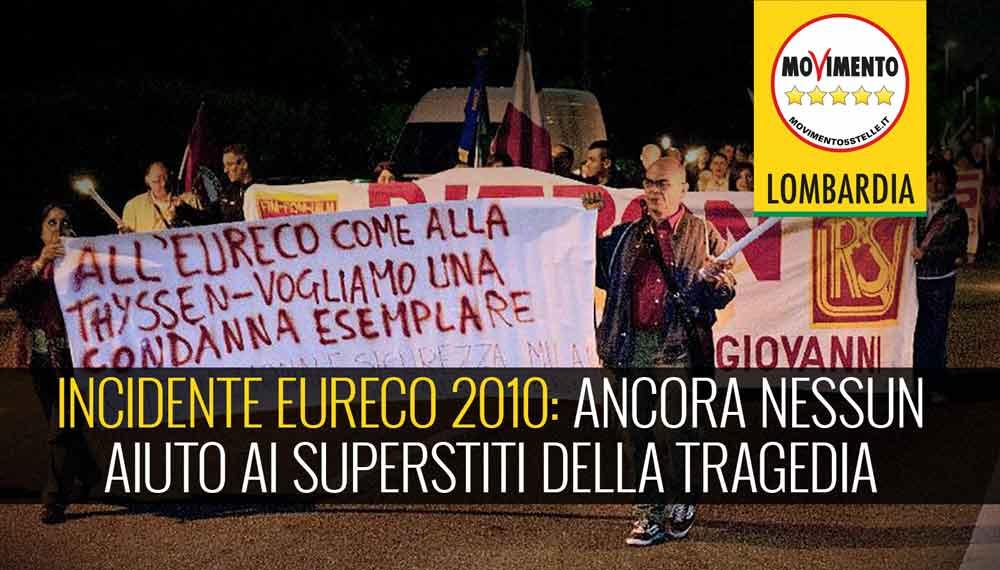 Rogo Eureco 2010: nonostante le promesse di Cattaneo ancora nessun aiuto da Regione ai superstiti della tragedia