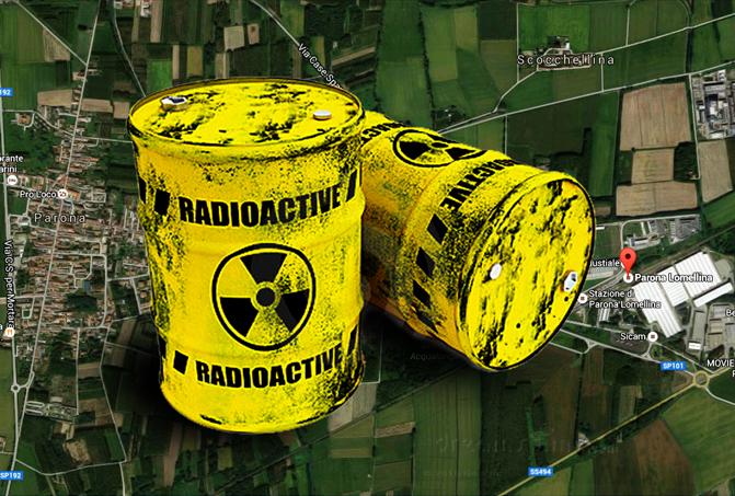 Parona Lomellina (PV): M5S Lombardia denuncia stoccaggio di rifiuti radioattivi NON a norma!