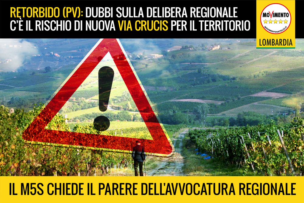 """Impianto pirolisi Retorbido: rischio di nuova """"via crucis"""". M5S chiede parere dell'Avvocatura Regionale"""