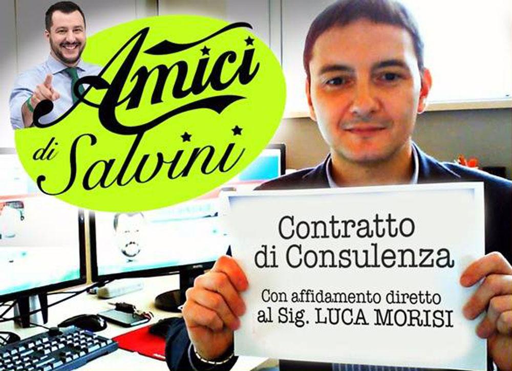 Come dare lavoro agli amici di Salvini a spese dei lombardi