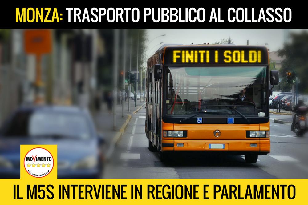 Monza, trasporto pubblico al collasso: M5S pronti ad azioni significative per non lasciare la Brianza a piedi
