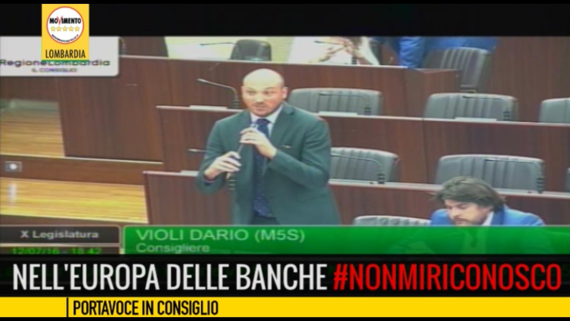 Nell'Europa delle banche #NonMiRiconosco.