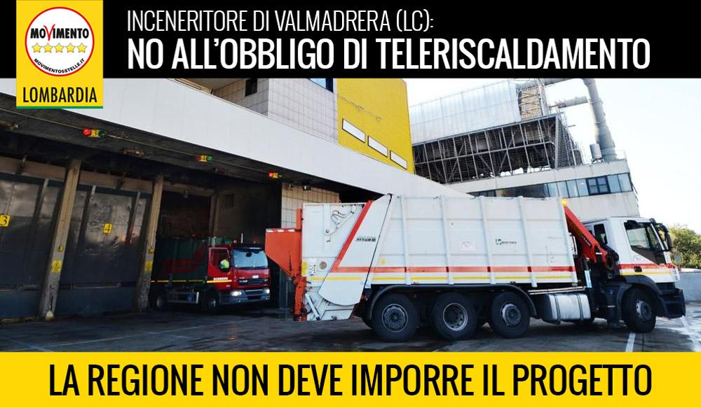 Inceneritore Valmadrera: Regione non deve imporre il teleriscaldamento.