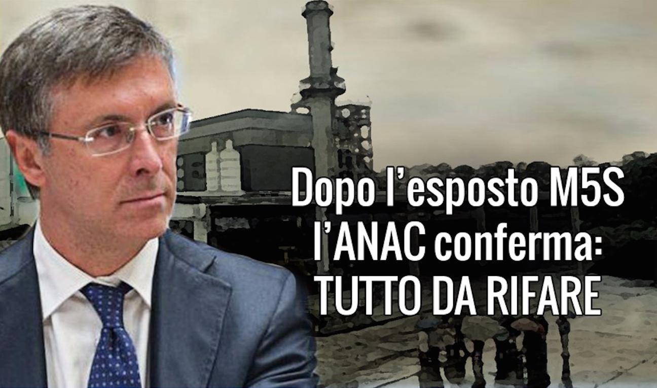 ANAC boccia la gara della turbina dell'inceneritore di Desio!