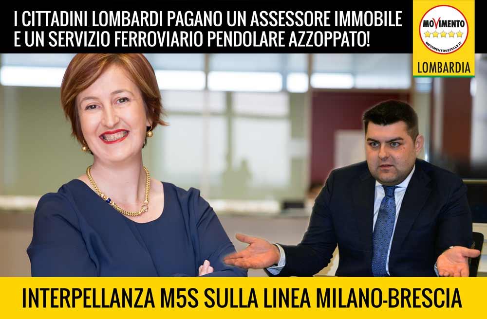 Alta velocità Milano Brescia: l'Assessore Sorte schiva la censura del M5S grazie al PD