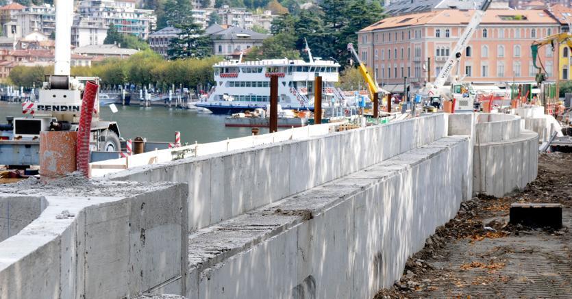 Paratie lago di Como: controllo sui costi e mitigare i danni