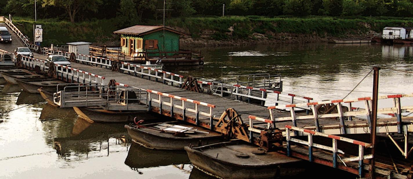 Ponte di barche di Torre D'Oglio (Mantova): Regione attivi tavolo tecnico per trovare soluzioni.