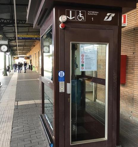 Mantova, garantire accesso continuativo all'ascensore della stazione