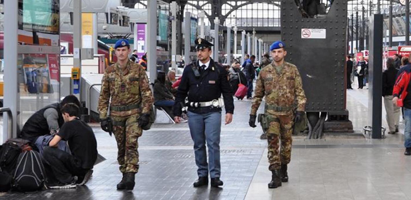 Non si risolvono i problemi di sicurezza militarizzando i nostri treni
