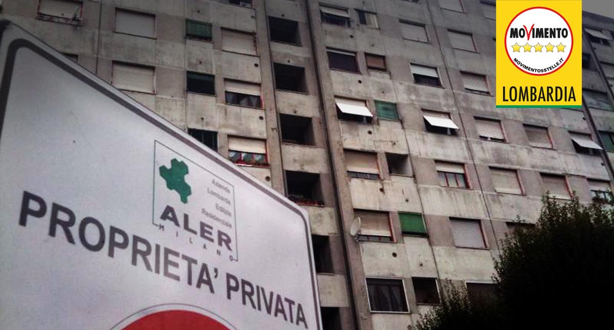 ALER. Nuovo presidente, vecchi disagi: crollato il soffitto di un alloggio popolare!