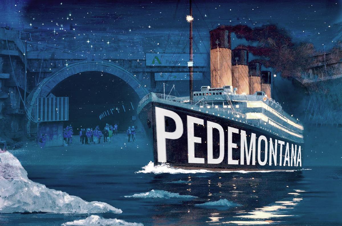 Pedemontana è il Titanic, via il fondo di garanzia dal bilancio regionale!