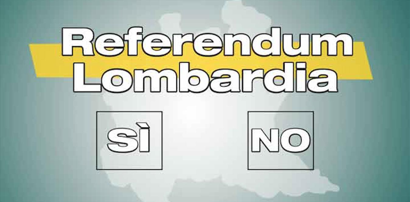 Referendum autonomia, si faccia al più presto.