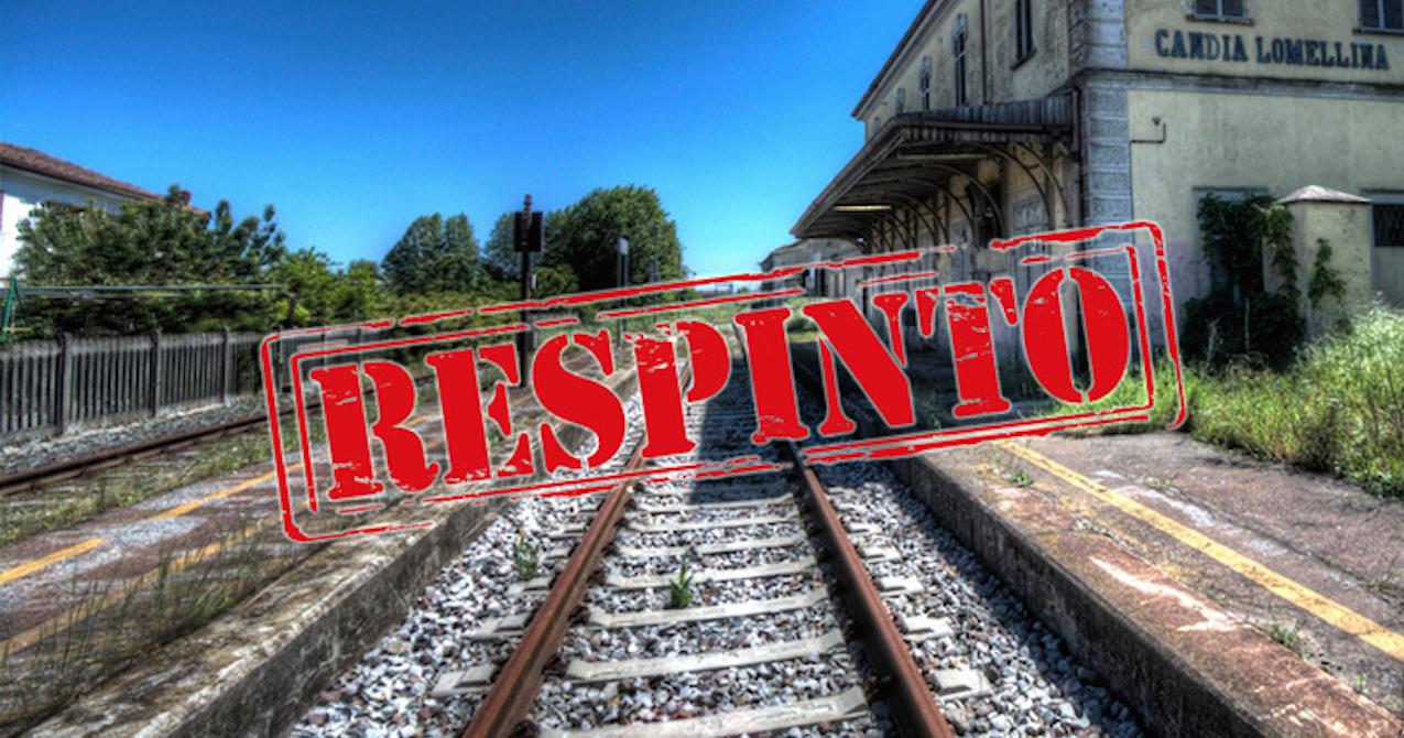 La Regione boccia la richiesta del M5S di riattivare la linea ferroviaria Casale-Mortara