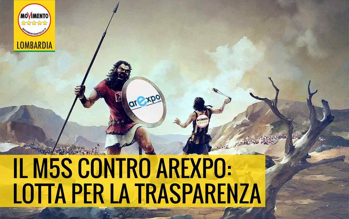 M5S contro Arexpo: lotta per la trasparenza.