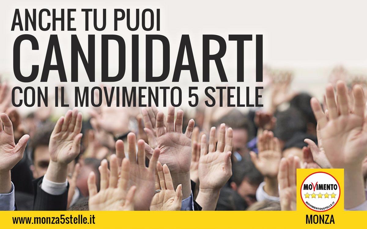 Amministrative 2017 Monza: aperte le candidature per il Movimento!