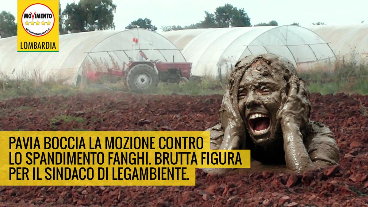 Fanghi,a Pavia la maggioranza PD boccia la mozione M5S: un vergognoso muro di gomma!