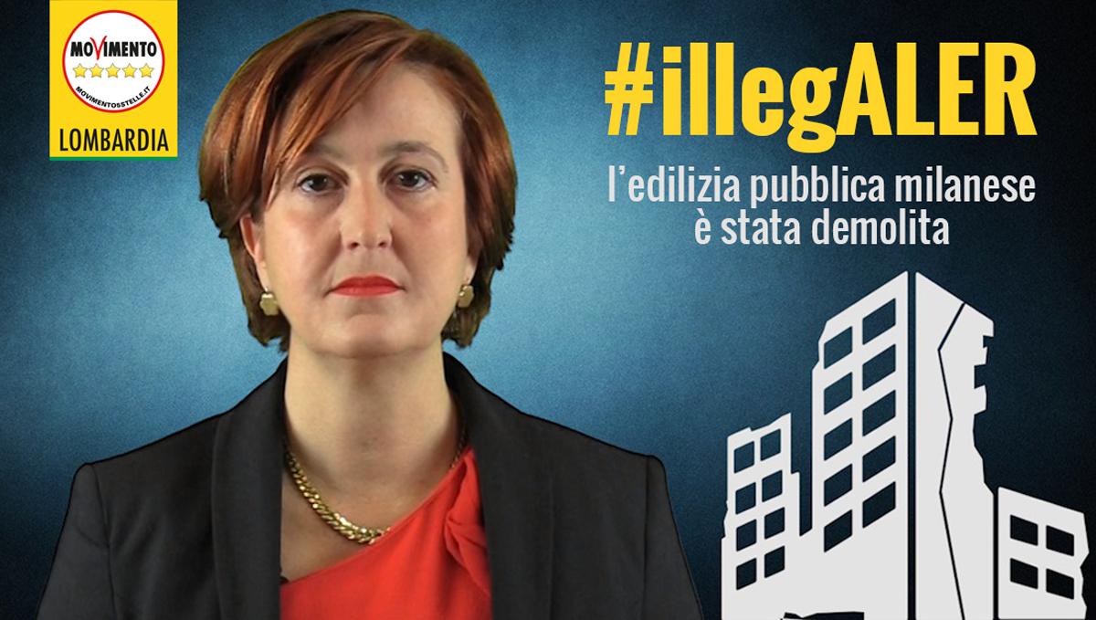 #IllegALER: l'edilizia pubblica milanese è stata demolita.