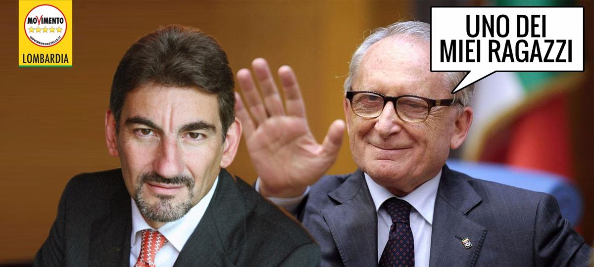 """Il presidente del Consiglio Regionale """"uno dei ragazzi"""" di Frigerio, il boss della """"cupola"""" Expo."""