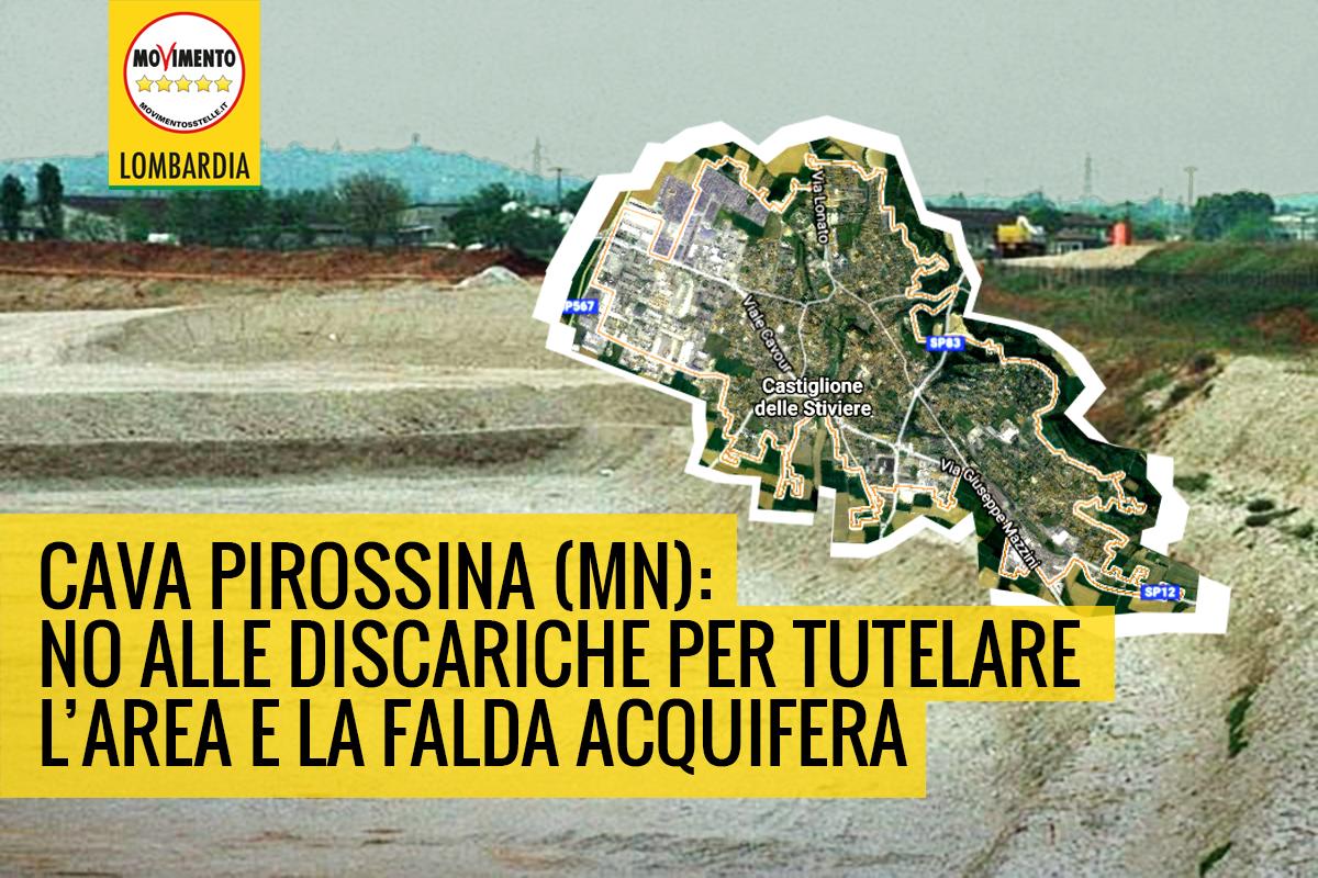 Cava Pirossina: questione ancora aperta.