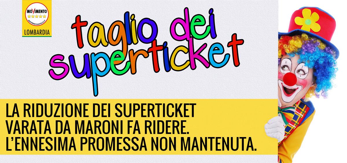 Superticket: taglio farlocco, promessa non mantenuta da Maroni