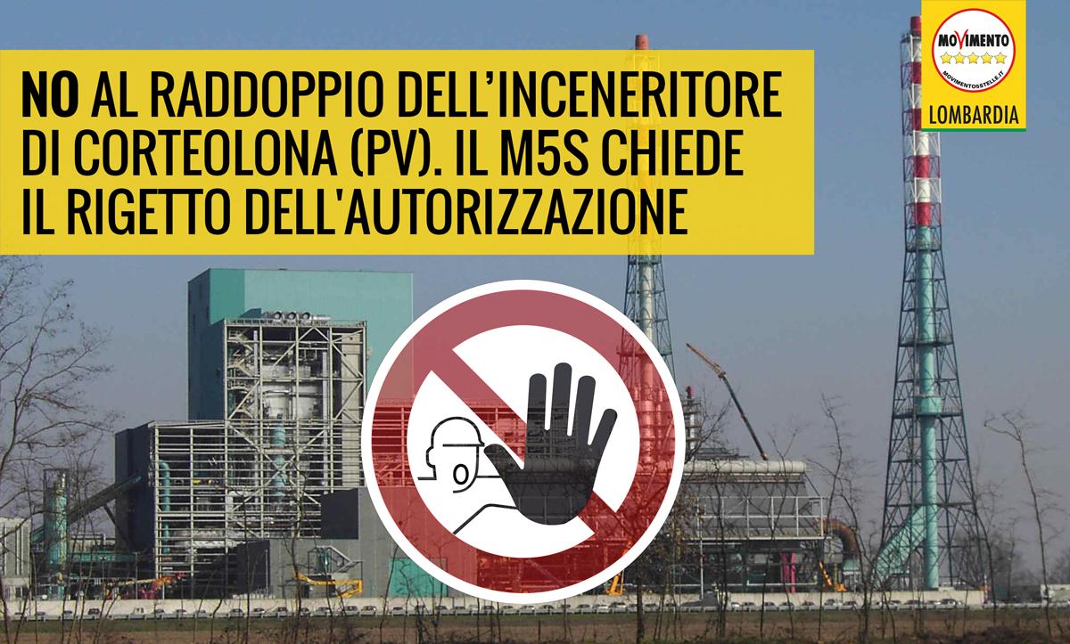 NO al nuovo inceneritore a Corteolona: la normativa regionale vieta l'incenerimento di rifiuti nella Rete ecologica regionale!