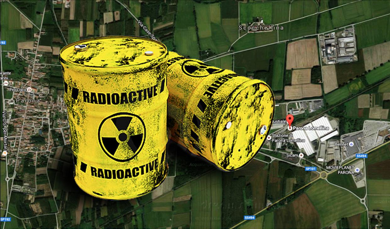 Rifiuti radioattivi a Parona: dopo la denuncia del M5S primo passo verso la messa in sicurezza.