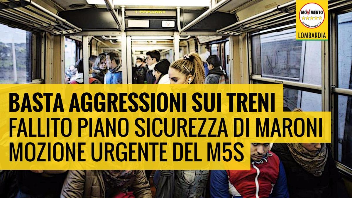 Sicurezza treni: fallito il Piano di Maroni, M5S chiede interventi urgenti sulle linee ferroviarie!