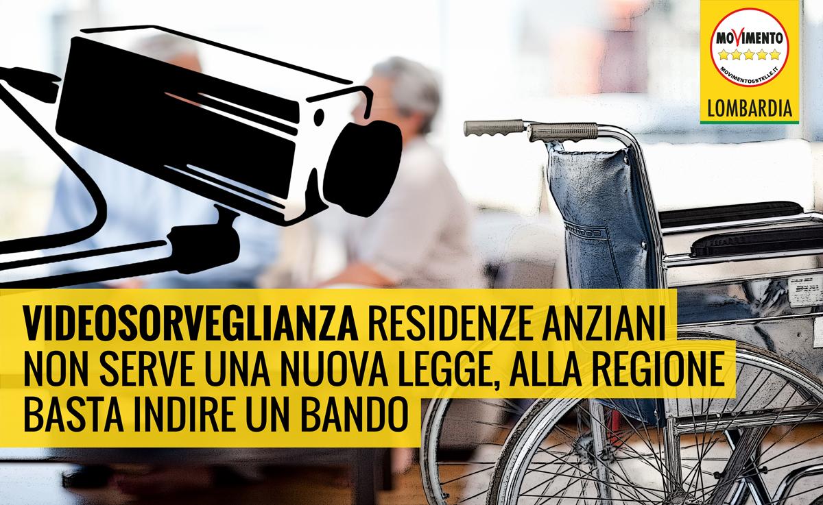 Videosorveglianza residenze per anziani: bastava un bando, alla faccia della semplificazione normativa!
