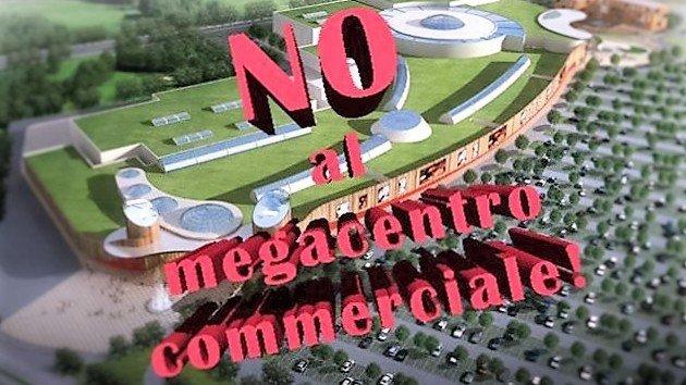 NO al nuovo mega centro commerciale: raccolta firme del M5S Bollate.
