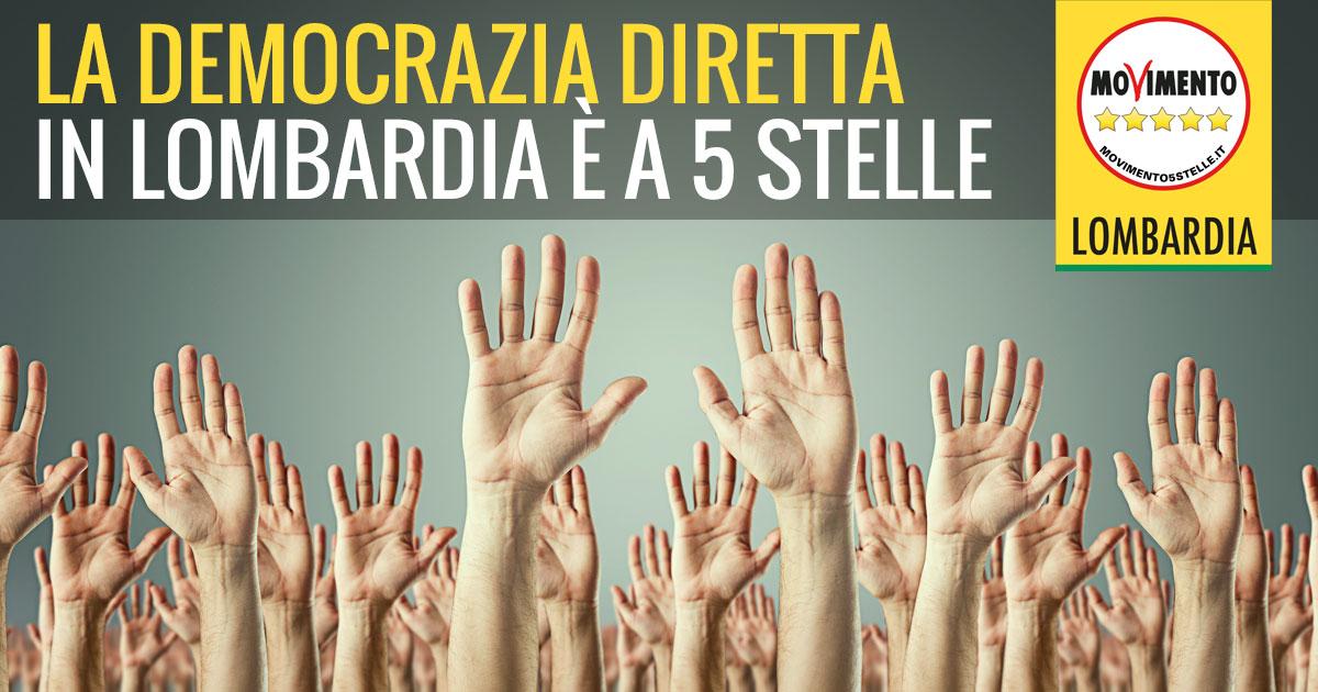Anche la Lombardia ha bisogno di Democrazia Diretta!