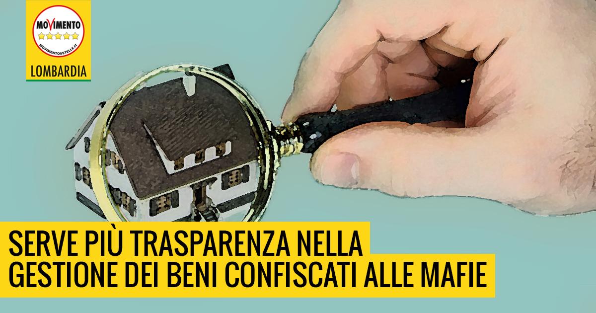Fondi regionali per i beni confiscati alla mafia: sistema macchinoso e non trasparente.