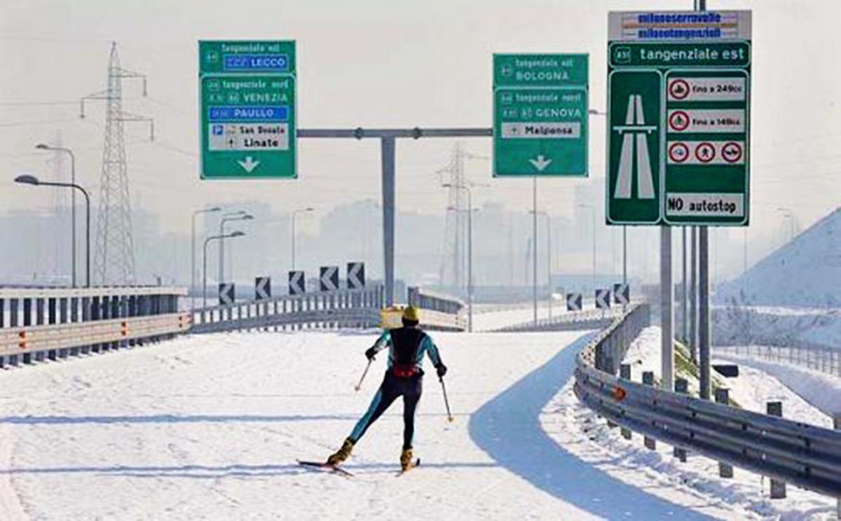 Le Olimpiadi invernali e lo slalom tra gli alberi di Expo.