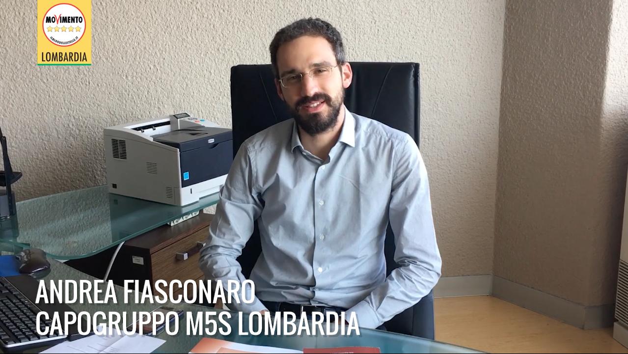 Andrea Fiasconaro nuovo capogruppo del M5S Lombardia.
