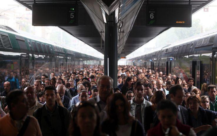 Noi pendolari tra gli altri pendolari